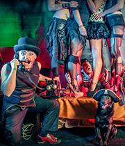 circus stage ozora juggling