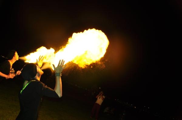 Zirkrobajka Circus Fireshow tranzit cluj napoca jonglerii foc